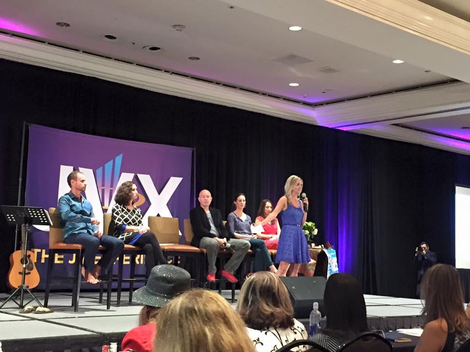 Gina Hussar speaking at JVX