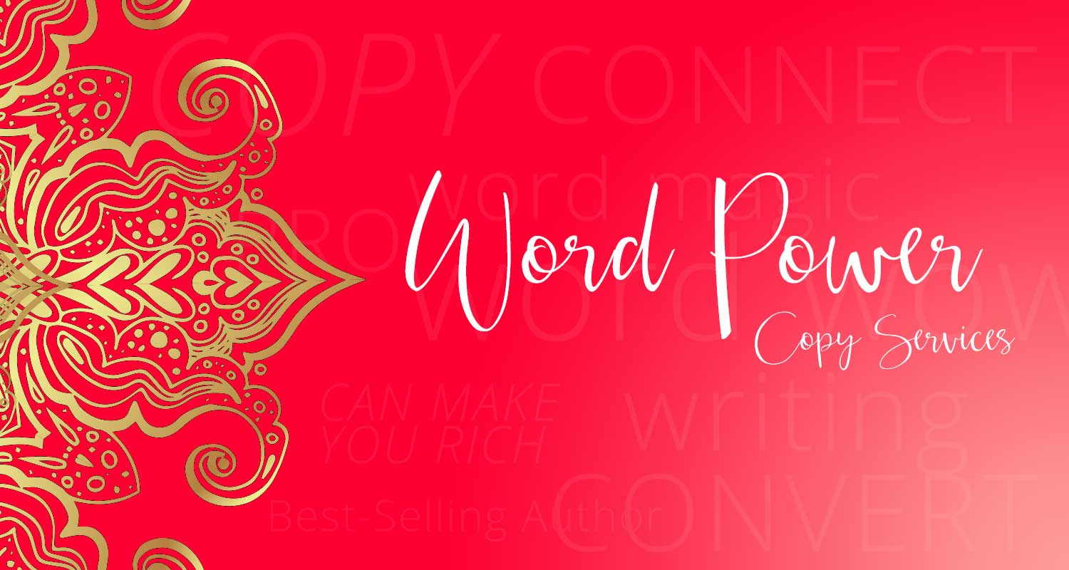 Word Power - Copy Writing Services with Gina Hussar